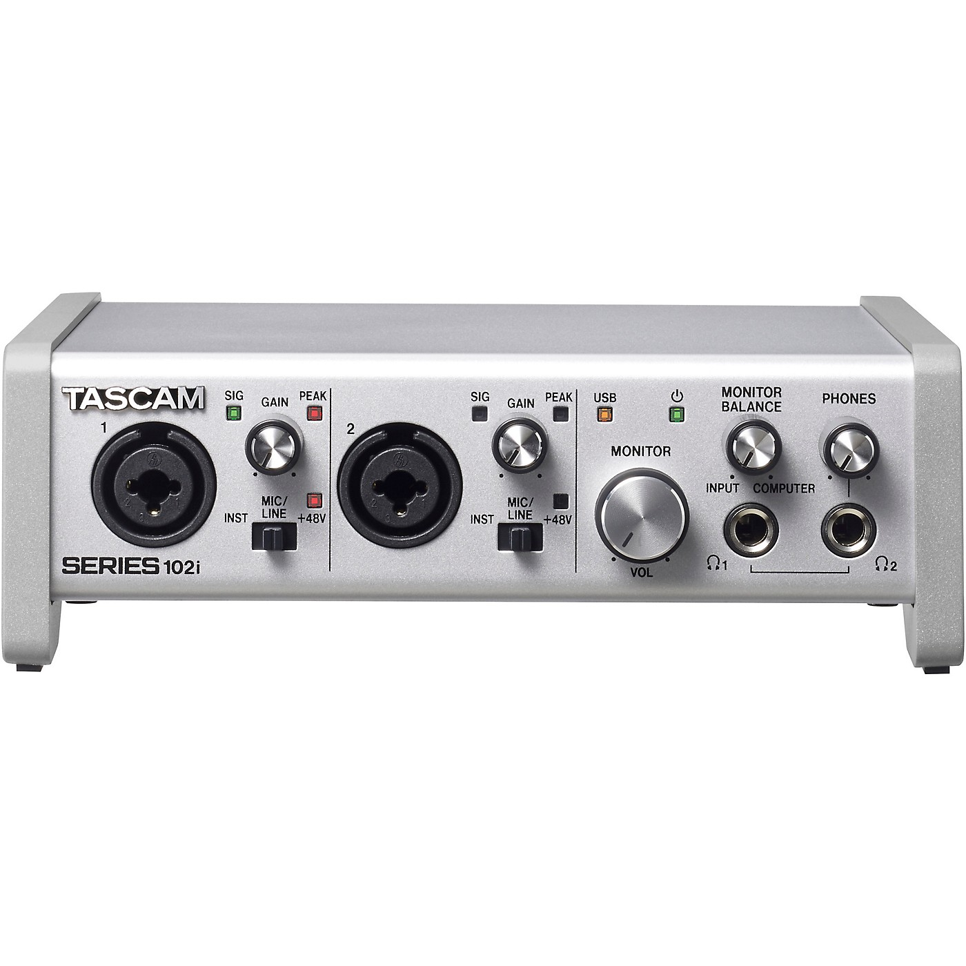 Tascam SERIES 102i 10-In/2-Out USB Audio/MIDI Interface thumbnail