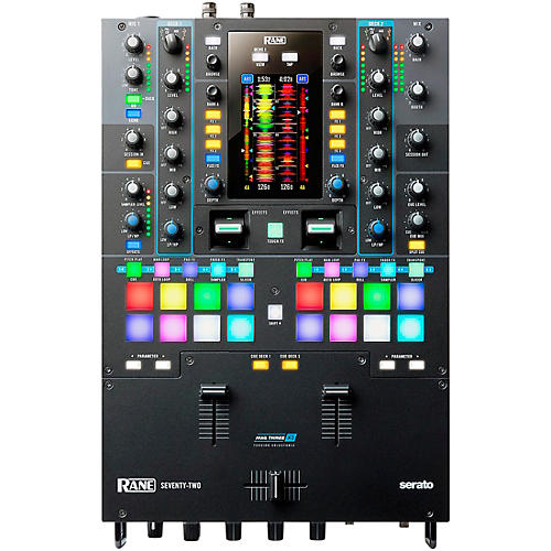 Rane SEVENTY-TWO Battle-Ready 2-channel DJ Mixer with Touchscreen and Serato DJ thumbnail