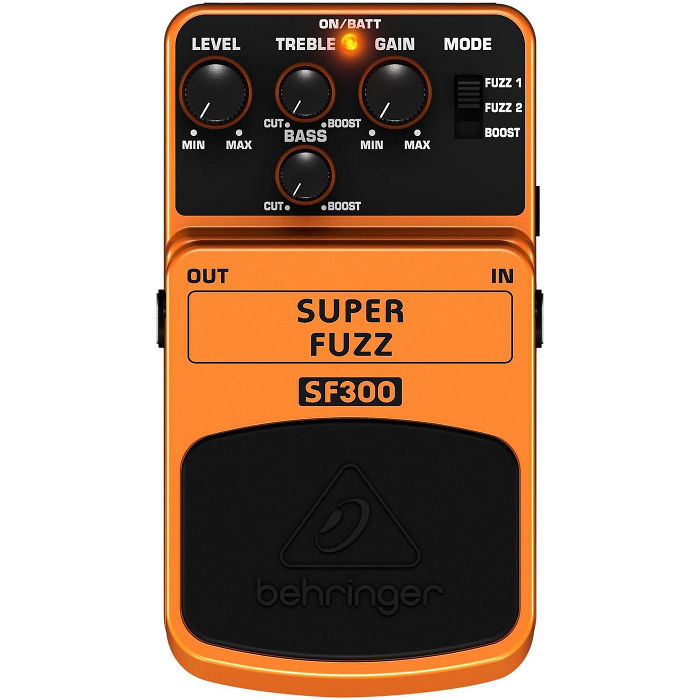 Behringer SF300 Super Fuzz Pedal thumbnail