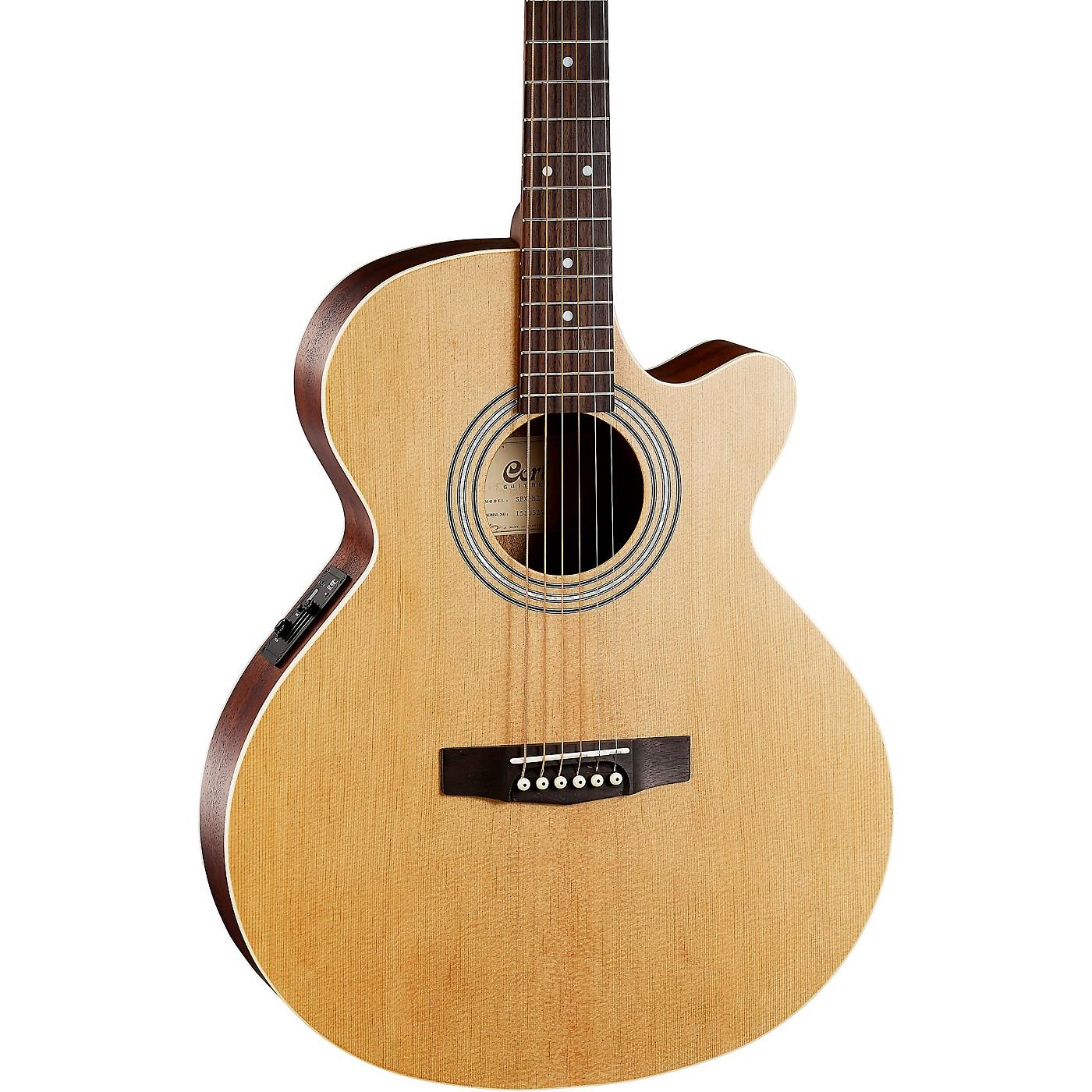 Cort (SFXMEOP-A-U) SFX Cutaway Acoustic-Electric Spruce Top Open Pore Natural thumbnail