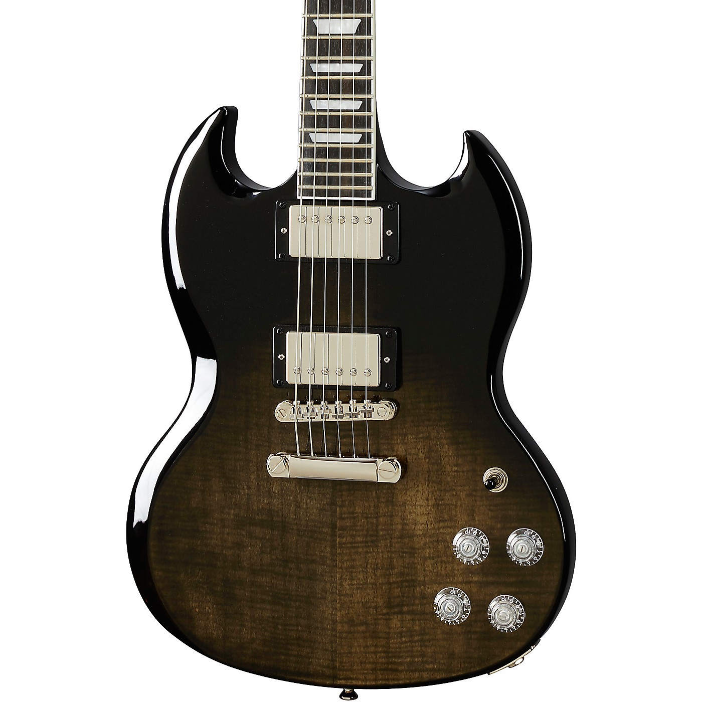 Epiphone SG Modern Figured Solidbody Electric Guitar thumbnail