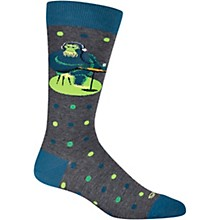 K. Bell SHAG Men's Gorilla Dot Crew Socks
