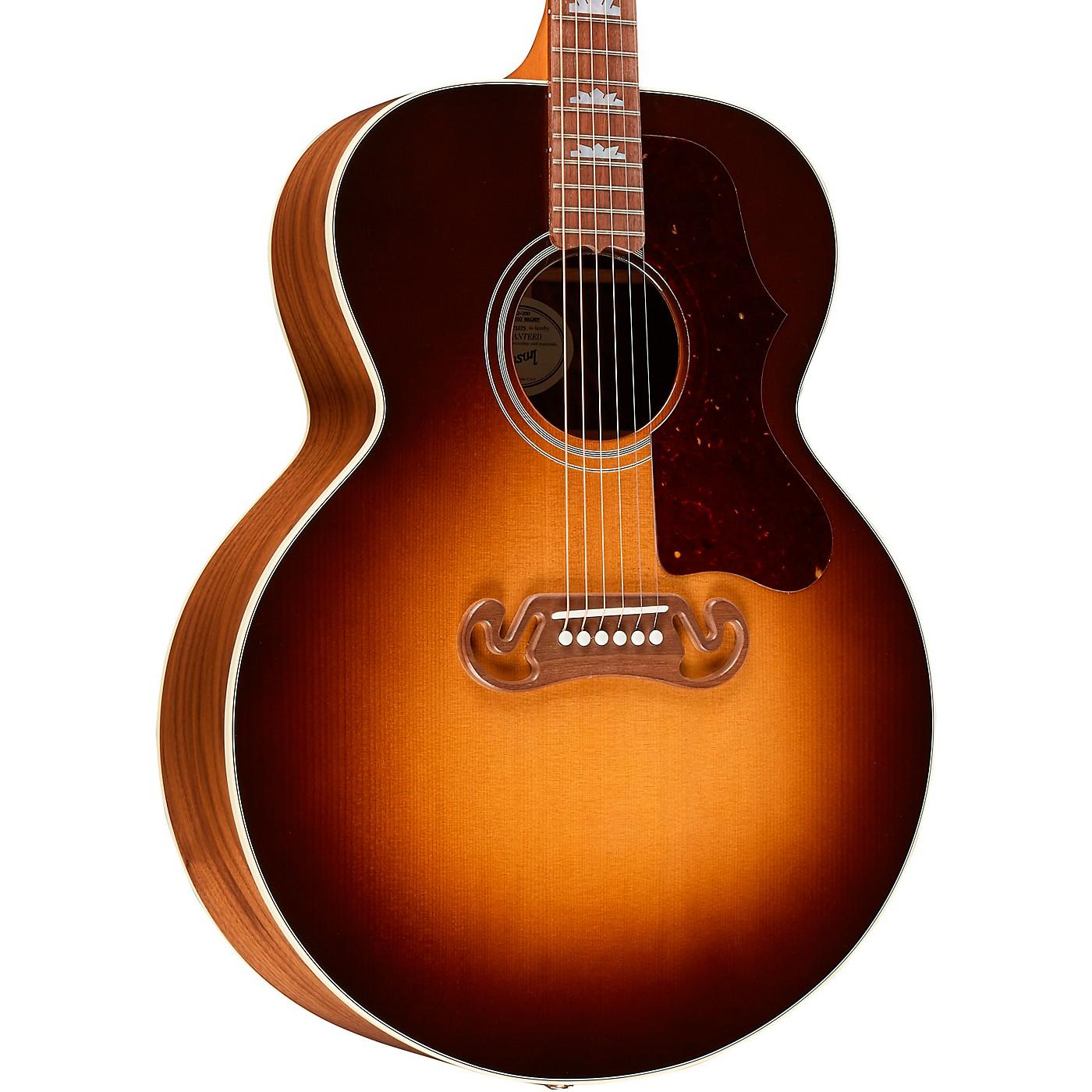 Gibson SJ-200 Studio Walnut Acoustic-Electric Guitar thumbnail