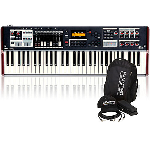 Hammond SK1 61-Key Digital Stage Keyboard and Organ with Keyboard Accessory Pack thumbnail