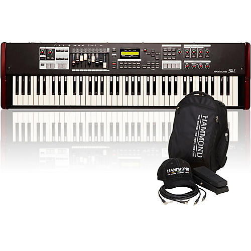 Hammond SK1-73 73 Key Digital Stage Keyboard and Organ with Keyboard Accessory Pack thumbnail