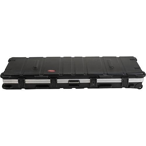 SKB SKB-5817W Slimline 88-Key Keyboard Case with Wheels thumbnail