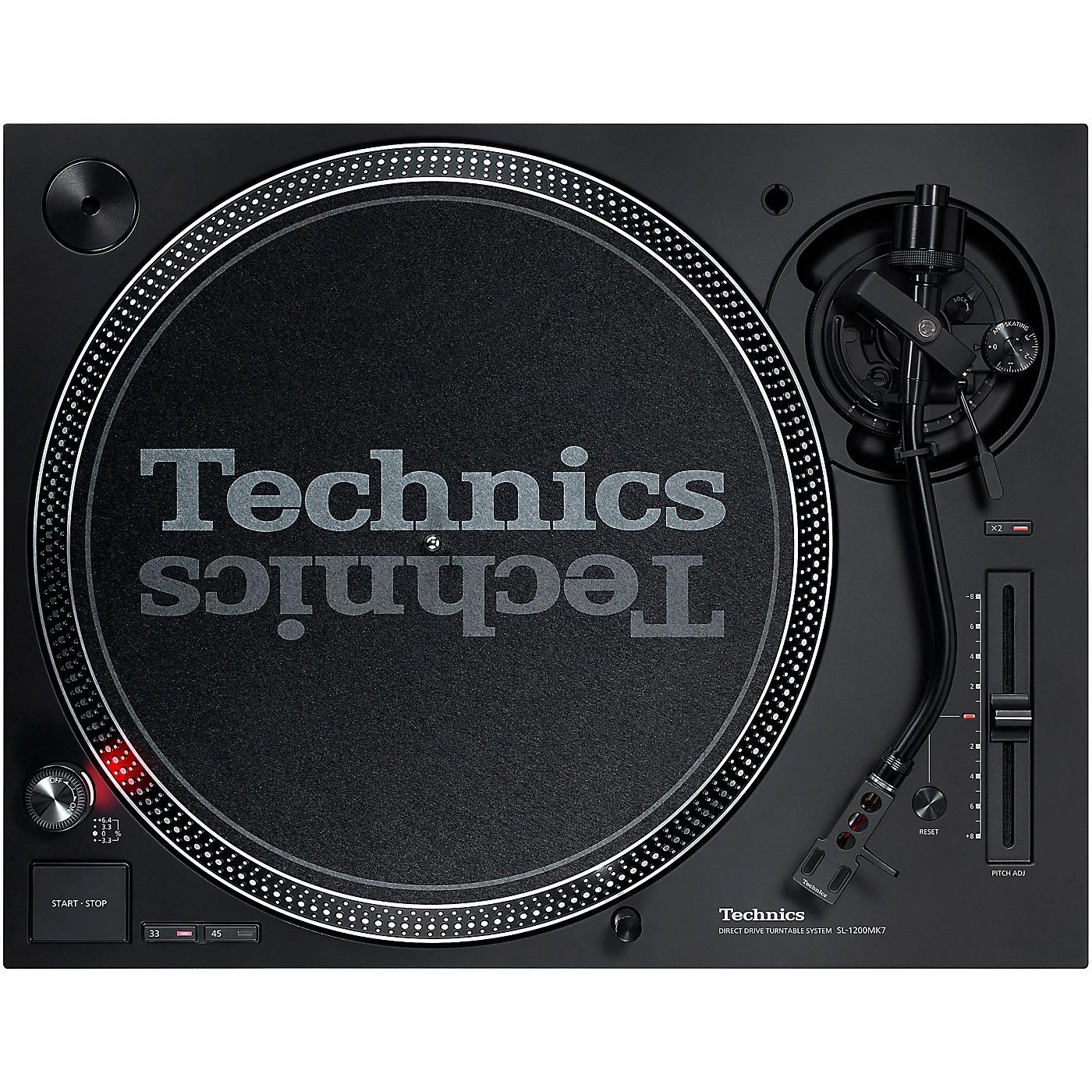 Technics SL-1200MK7 Direct-Drive Professional DJ Turntable thumbnail