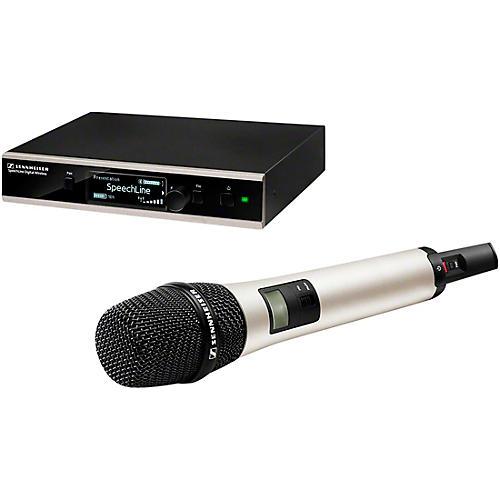 Sennheiser SL HANDHELD SET DW-4-US R SpeechLine Digital Wireless Vocal Set w MME 865-1 capsule & GA 4 Rackmount thumbnail