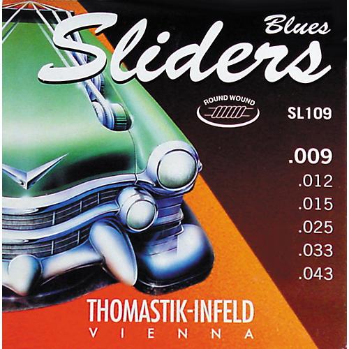 Thomastik SL109 Sliders Light Electric Guitar Strings thumbnail