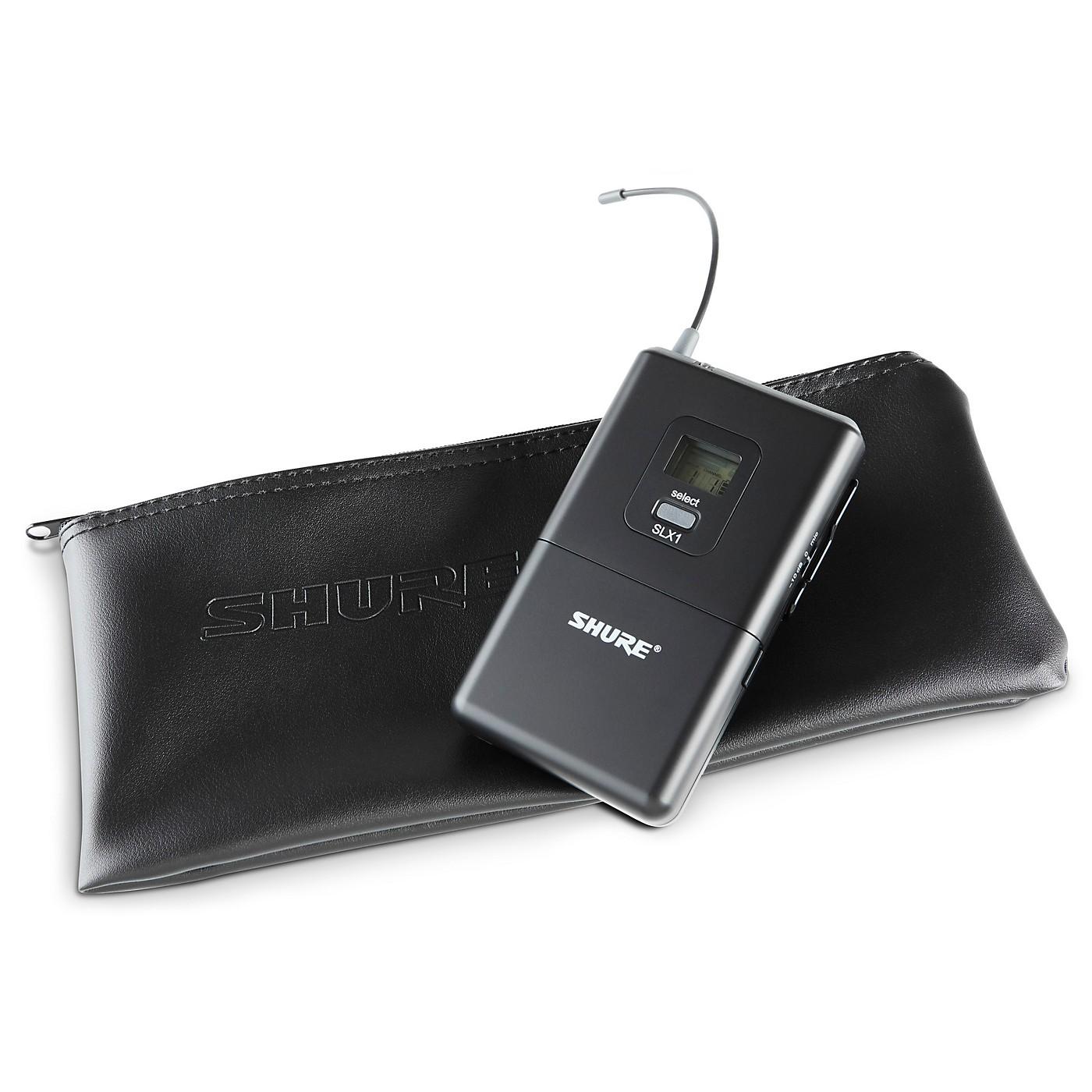 Shure SLX1 Wireless Bodypack Transmitter thumbnail