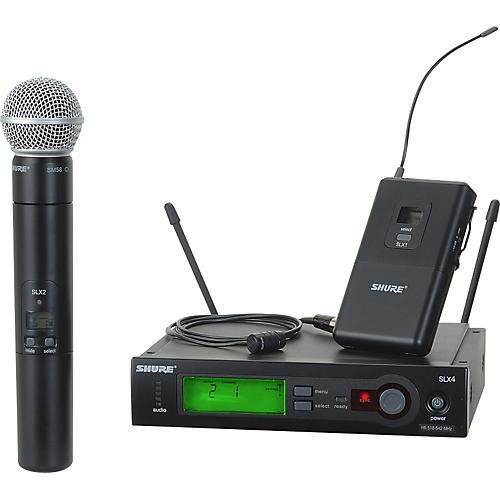 Shure SLX124/85/SM58 Dual System thumbnail