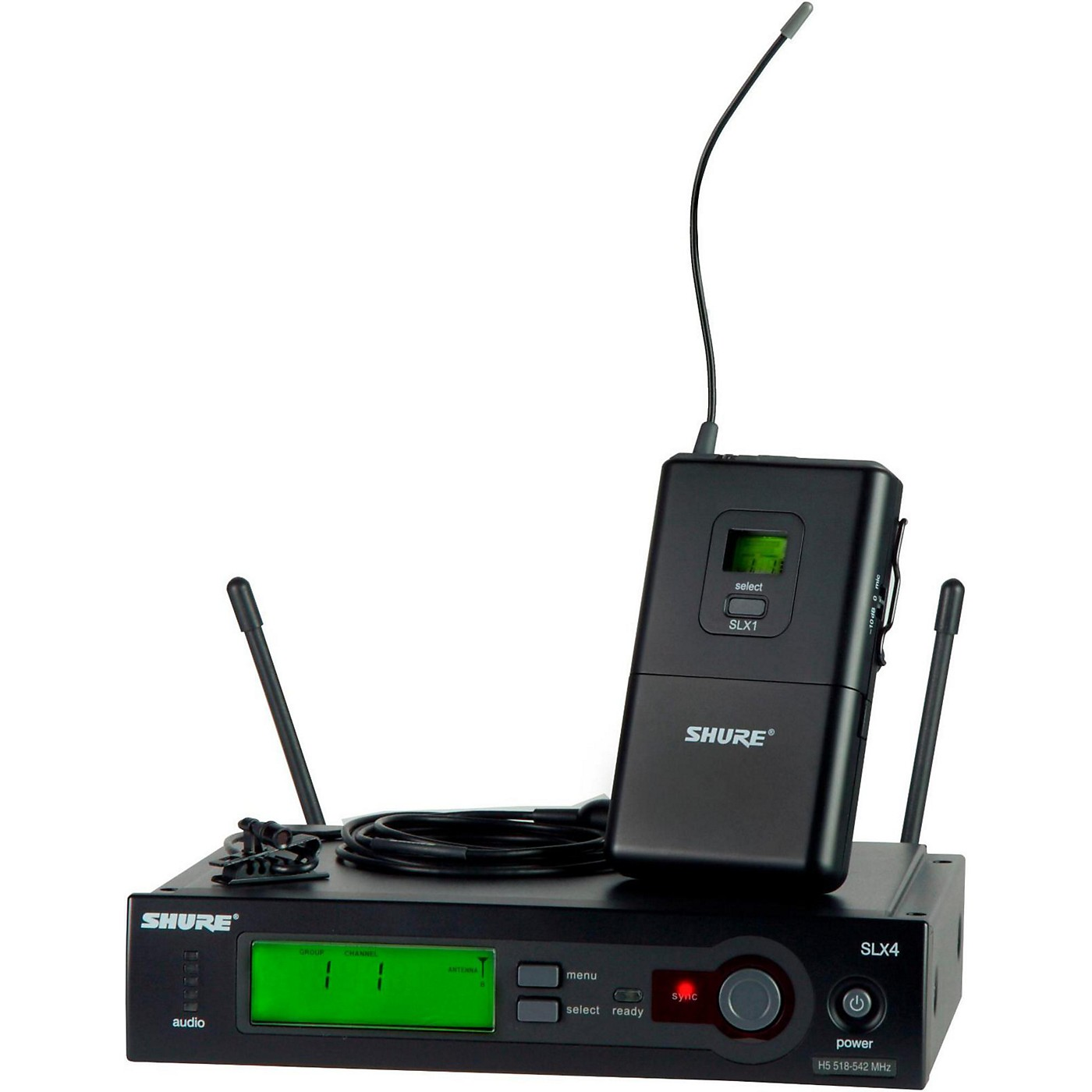 Shure SLX14 Instrument Bodypack Wireless System thumbnail