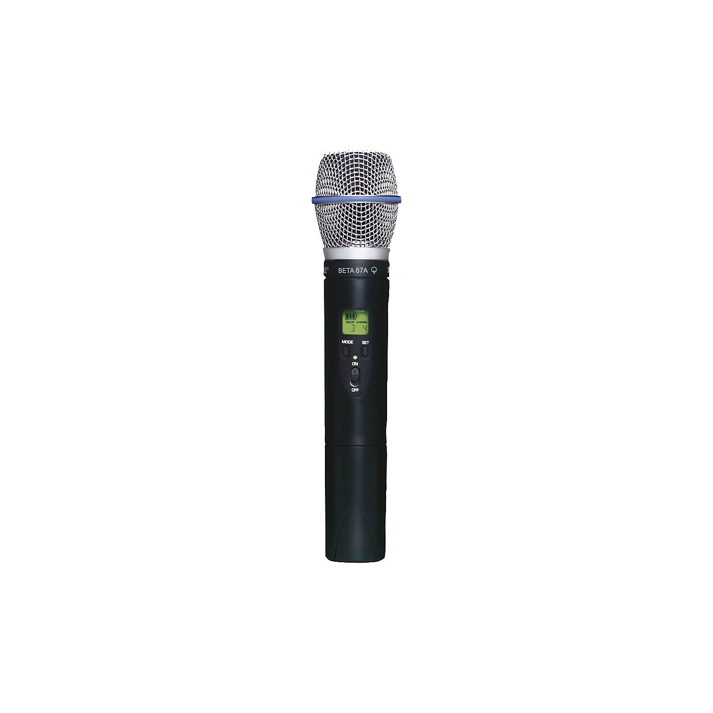 Shure SLX2/BETA87A Wireless Handheld Transmitter Microphone thumbnail