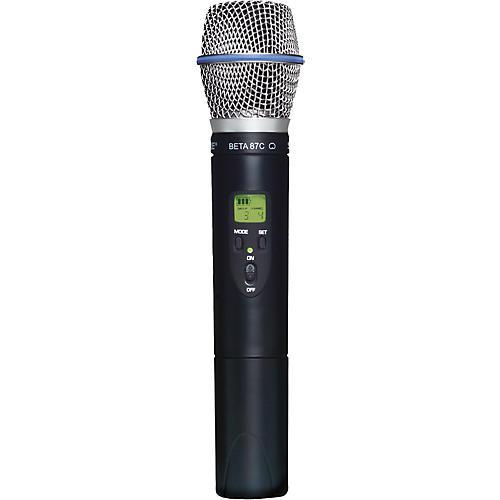 Shure SLX2/BETA87C Wireless Handheld Transmitter Microphone thumbnail