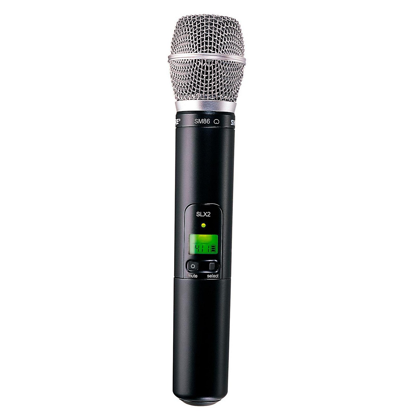 Shure SLX2/SM86 Wireless Handheld Transmitter Microphone thumbnail