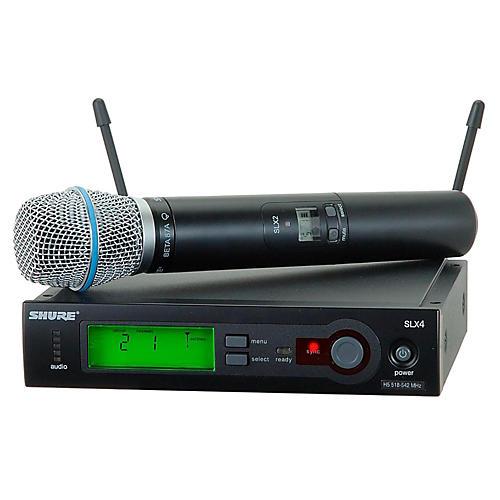 Shure SLX24/BETA87A Wireless Mic Sys thumbnail