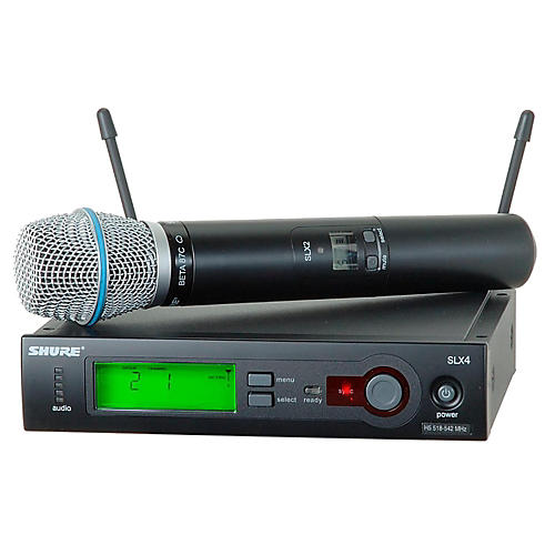 Shure SLX24/BETA87C Wireless Microphone System thumbnail