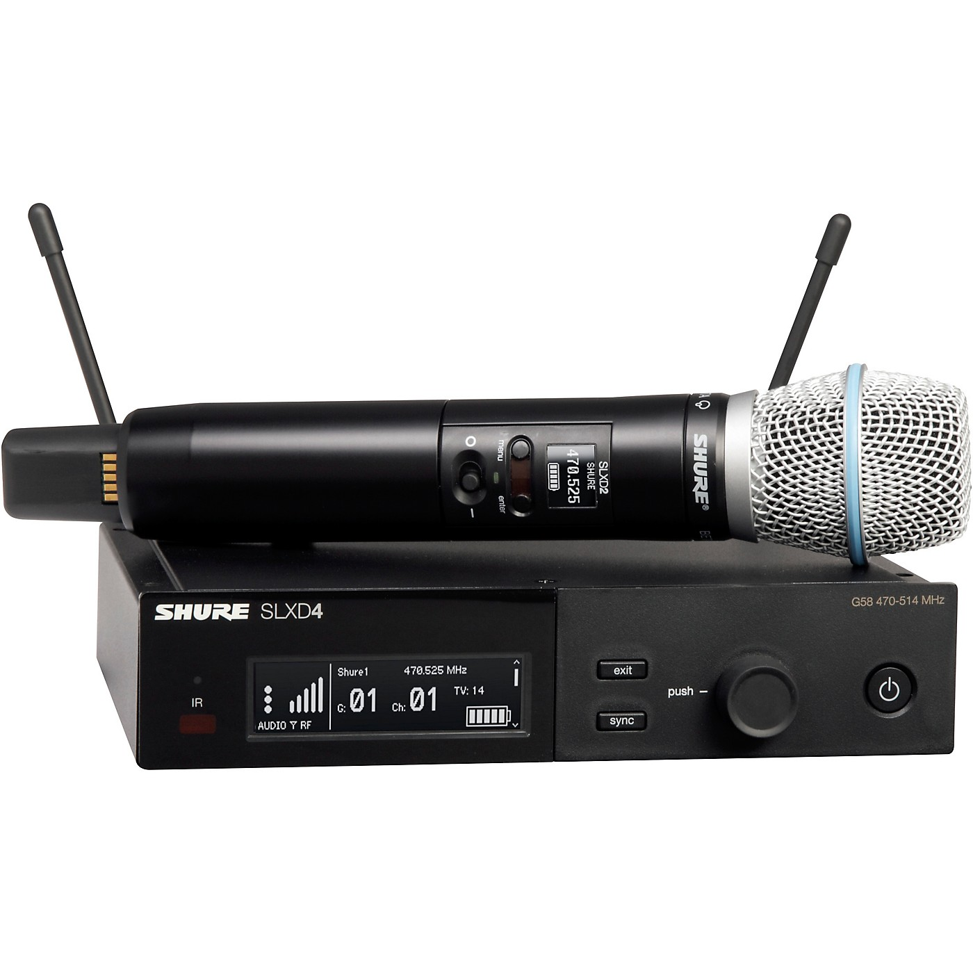Shure SLXD24/B87A Wireless Microphone System thumbnail