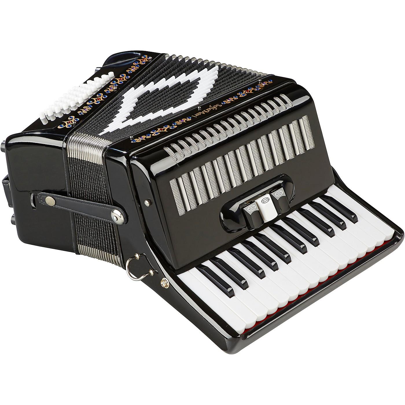 SofiaMari SM-2648, 26 Piano 48 Bass Accordion thumbnail
