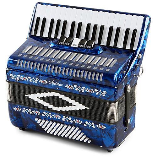 SofiaMari SM 3472 34 Piano 72 Bass Button Accordion thumbnail