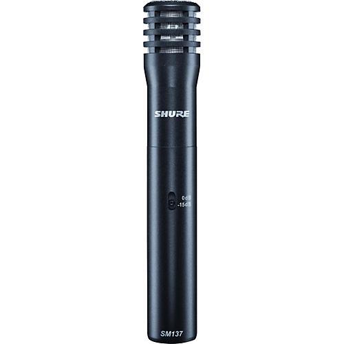 Shure SM137 Condenser Instrument Microphone thumbnail