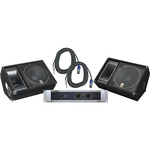 Yamaha SM15V/ P5000S Speaker & Amp Package-thumbnail
