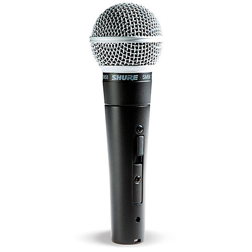 Shure SM58S Mic with Switch thumbnail