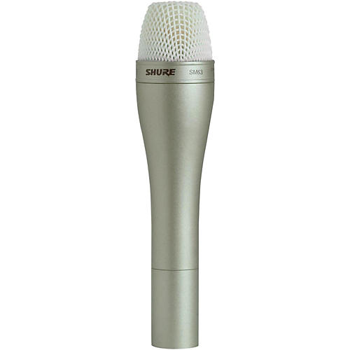 Shure SM63 Handheld Dynamic Omnidirectional Microphone thumbnail