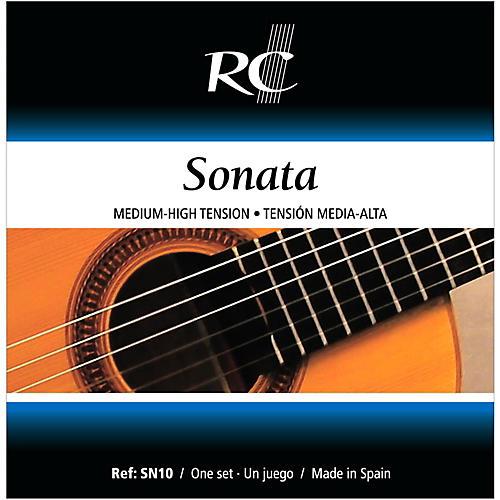 RC Strings SN10 Sonata Medium-High Tension Nylon Guitar Strings thumbnail