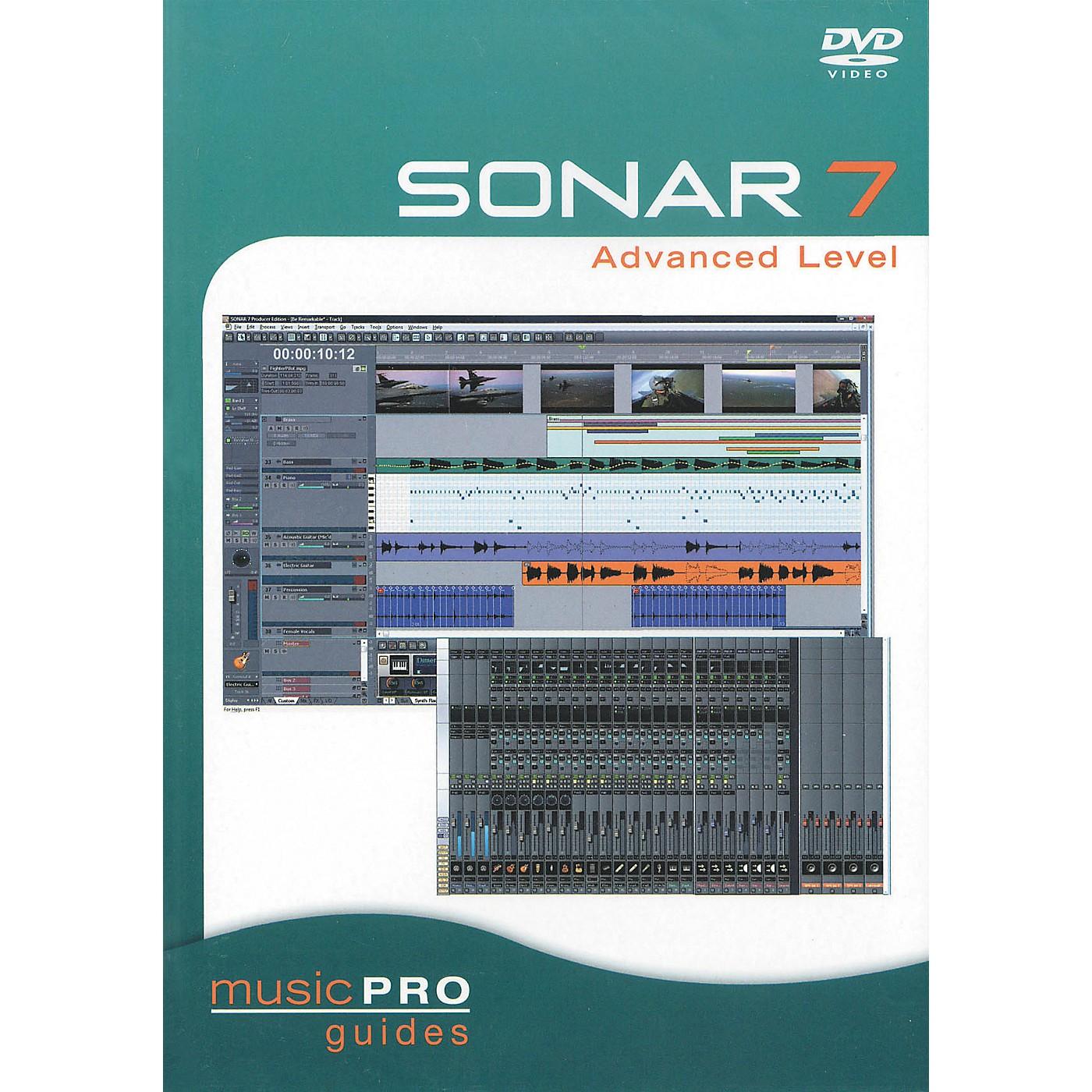 Hal Leonard SONAR 7 Advanced Level - Music Pro Series (DVD) thumbnail