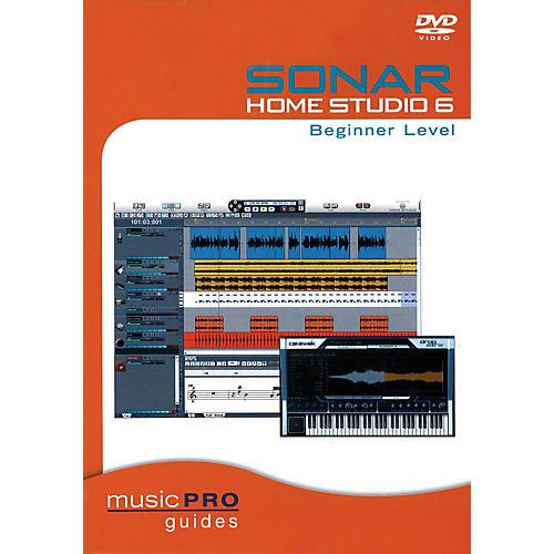 Hal Leonard SONAR Home Studio 6 Beginner Level (Music Pro Guides) Music Pro Guide Books & DVDs Series DVD by Various thumbnail
