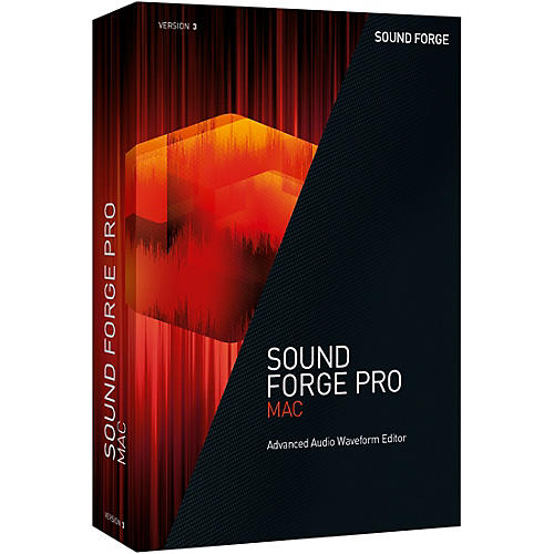 Magix SOUND FORGE Pro Mac 3 thumbnail