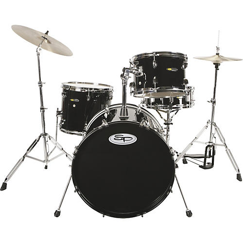Sound Percussion Labs SP 4 Piece Drum Kit with Hardware-thumbnail
