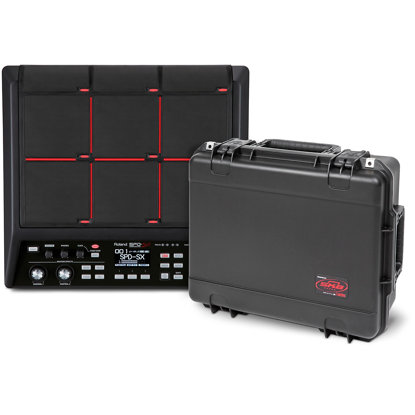 Roland SPD-SX Sampling Pad with SKB Case thumbnail