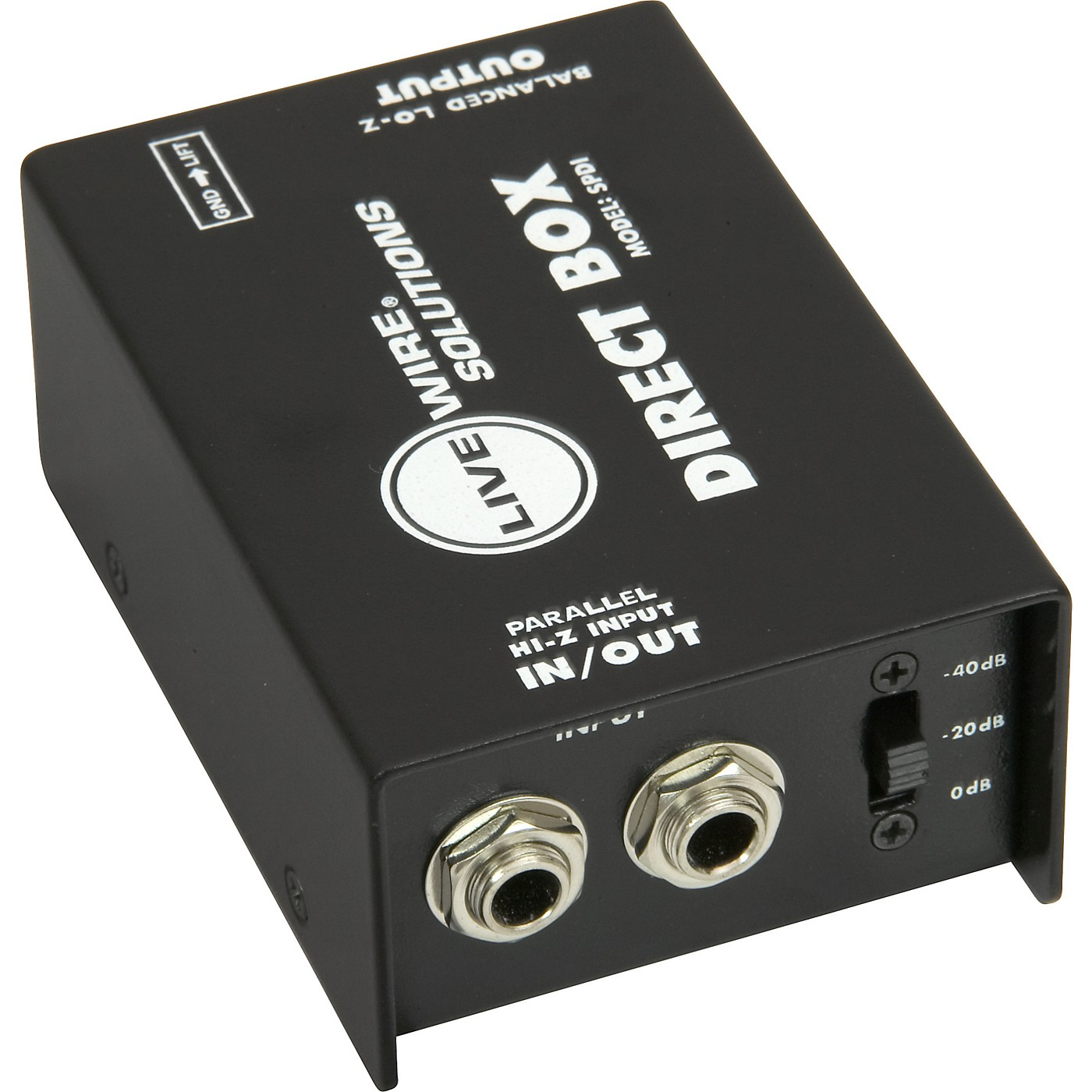 Livewire SPDI Passive Direct Box with Attenuation Pad thumbnail