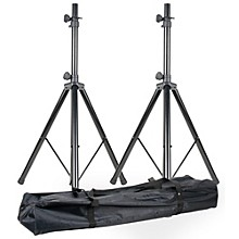 American DJ SPSX2B Speaker Stand Pair with Bag