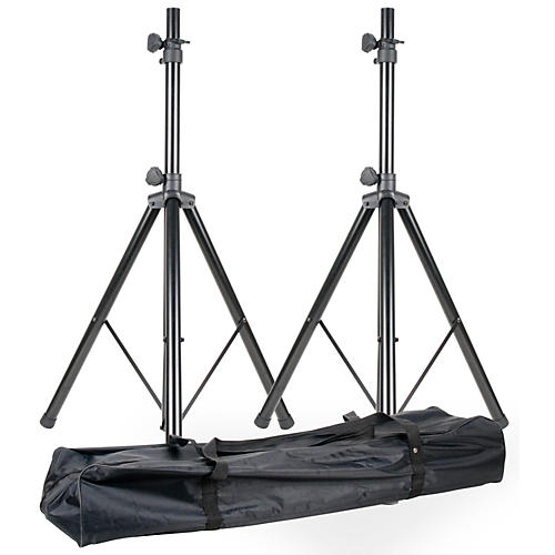 American DJ SPSX2B Speaker Stand Pair with Bag thumbnail