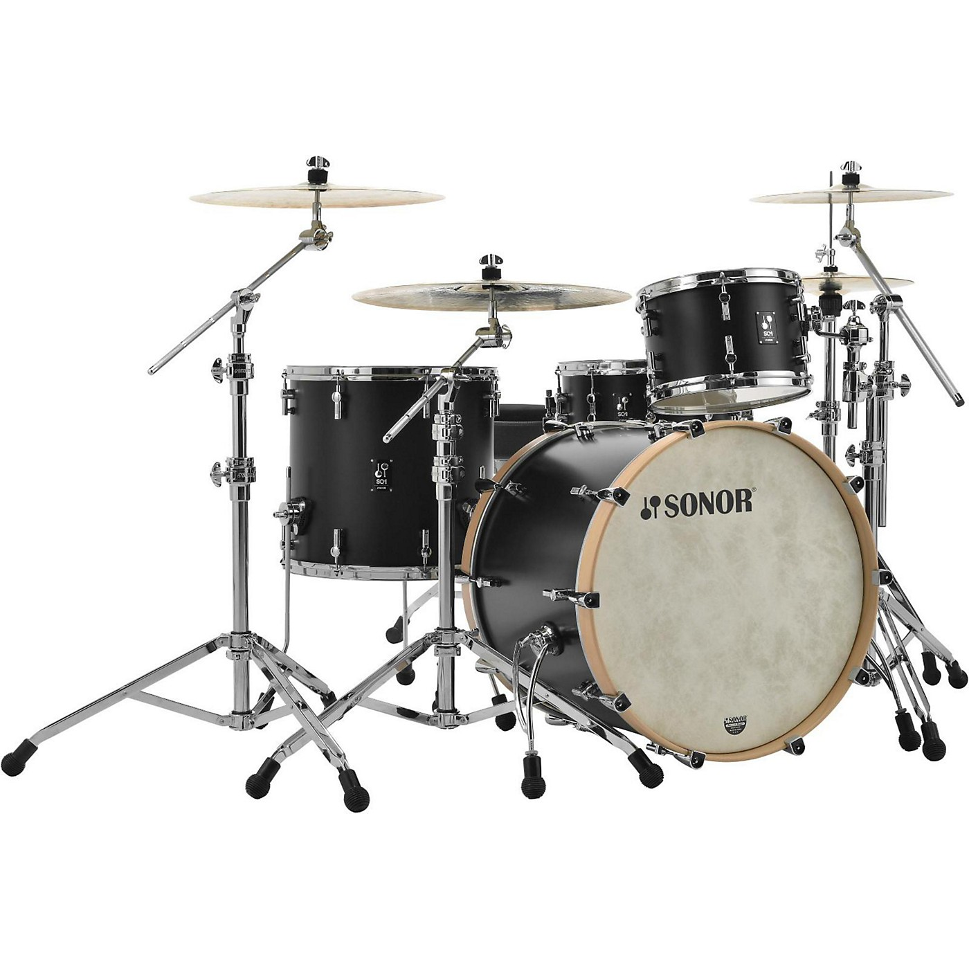 Sonor SQ1 3-Piece Shell Pack with 22 in. Bass Drum thumbnail