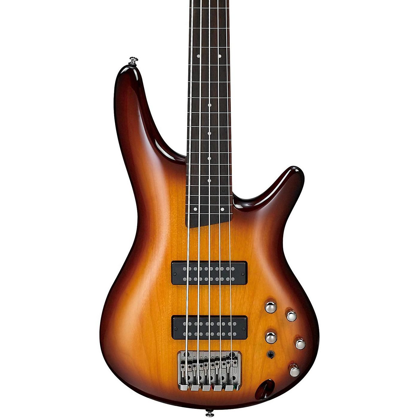 Ibanez SR375EF 5-String Fretless Electric Bass thumbnail