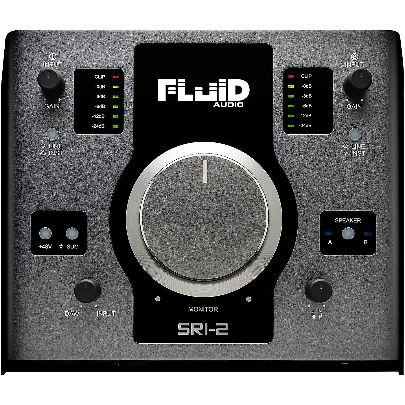 Fluid Audio SRI2 24/192kHz 2x4 Audio Interface thumbnail