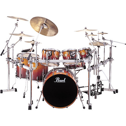 pearl srx session custom 7 piece drumset with rack woodwind brasswind. Black Bedroom Furniture Sets. Home Design Ideas