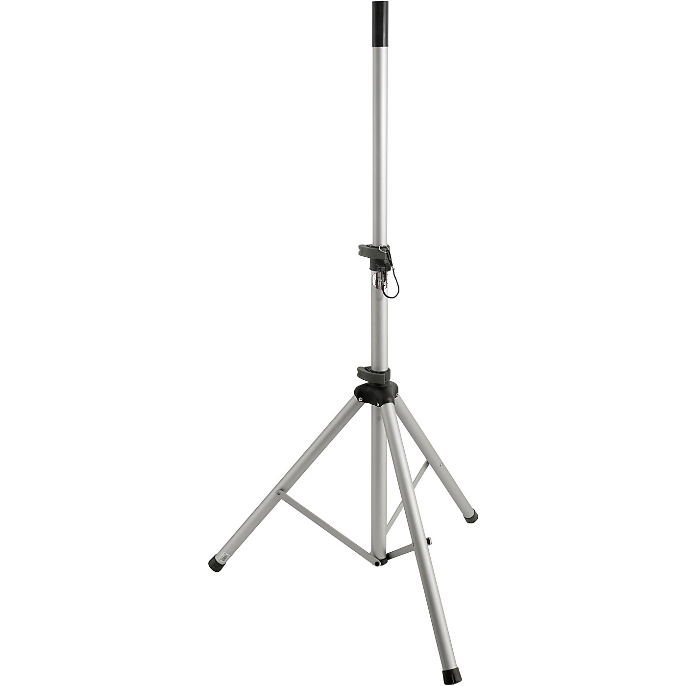 Peak Music Stands SS-20S Speaker Stand with Safety Pin Silver thumbnail