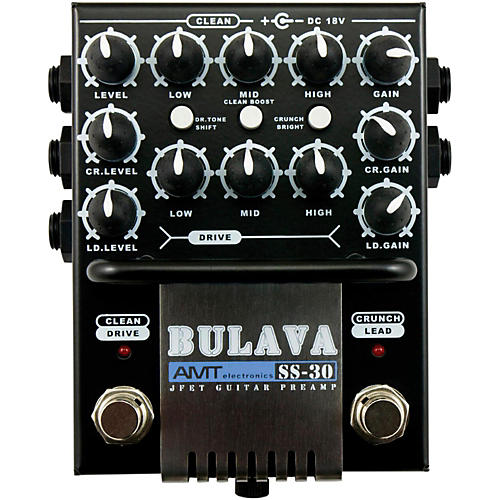 AMT Electronics SS-30 BULAVA 3-Channel Guitar Preamp thumbnail