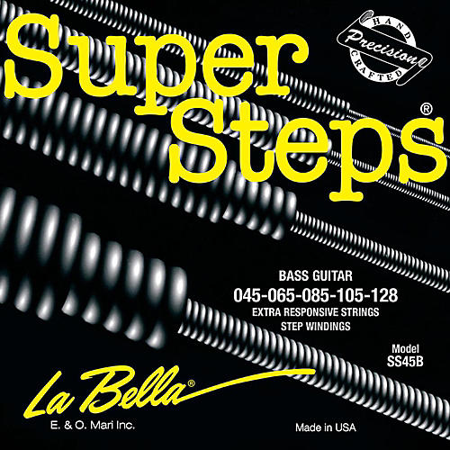 LaBella SS45-B Super Steps Standard 5-String Electric Bass Strings thumbnail