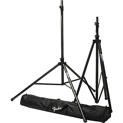 Fender ST-275 Tripod Speaker Stand Set with Carrying Bag thumbnail