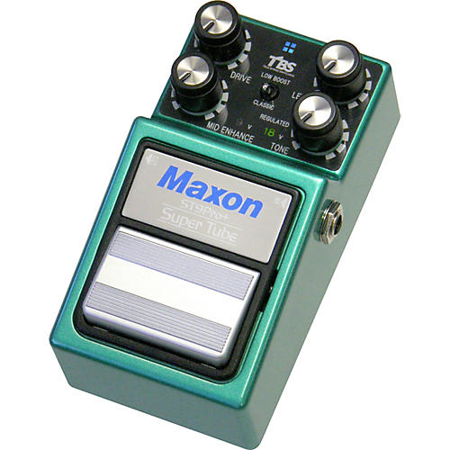 Maxon ST-9 Super Tube Pro Plus Distortion Guitar Effects Pedal from Nine Series thumbnail