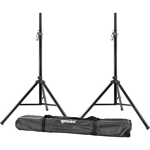 Gemini ST-PACK speaker stand package with carrying case thumbnail