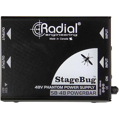 Radial Engineering STAGE BUG SB48 Phantom Power Supply thumbnail