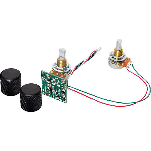 Basslines STC-2S-BO Blackouts 2-Band Tone Circuit with Separate Bass and Treble Potentiometers thumbnail