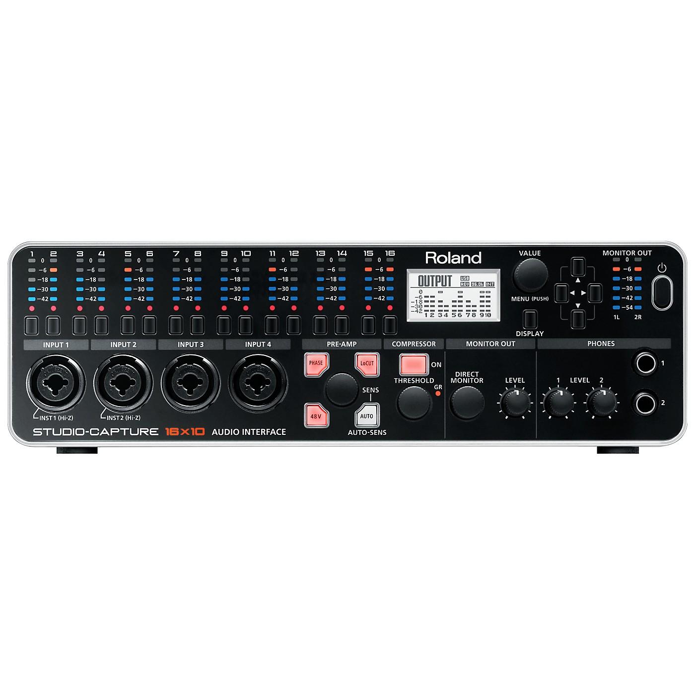 Roland STUDIO-CAPTURE USB 2.0 Audio Interface thumbnail